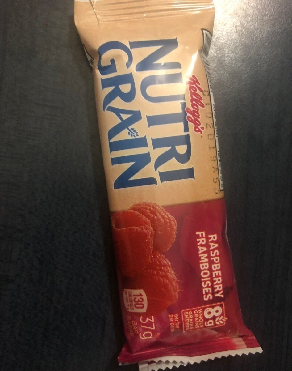 Kellogg's Nutri-grain Cereal Bar - Raspberry - Product - en