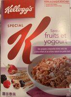 Céréales Spécial K (fruits & Yogourt) - Produit - fr