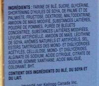 Fruit Crisps - Ingredients - fr