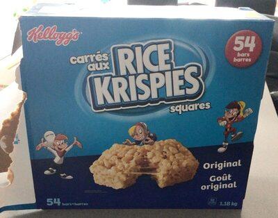 Rice crispees - Produit