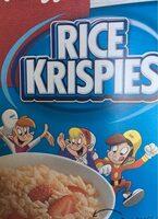 Céréales rice krispies - Product - fr