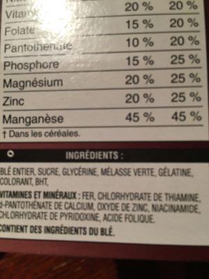 Mini-wheats - Product