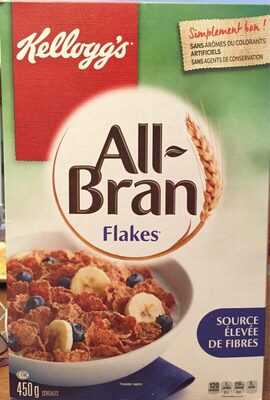 All bran flakes - Product