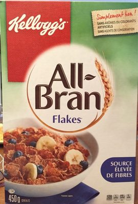 All bran flakes - Produit
