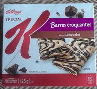 barres croquantes au chocolat Spécial K - Product - fr