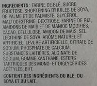 barres croquantes au chocolat Spécial K - Ingredients - fr
