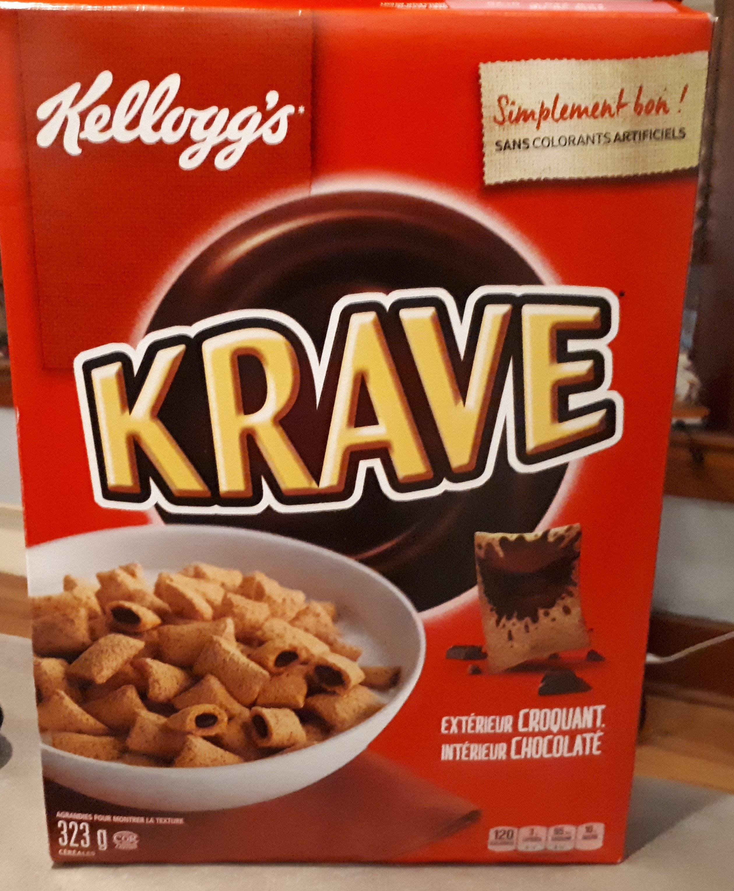 Céréales Au Chocolat Krave - Product - fr