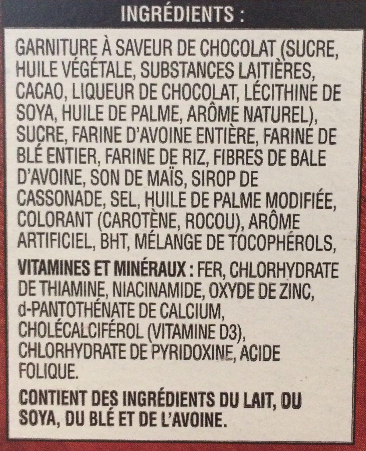 Céréales Au Chocolat Krave - Ingredients - fr