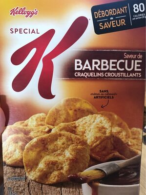 Special k cracker chips bbq gram imported from canada - Product - en