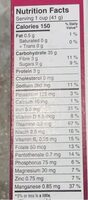 Special K red berries - Nutrition facts - fr