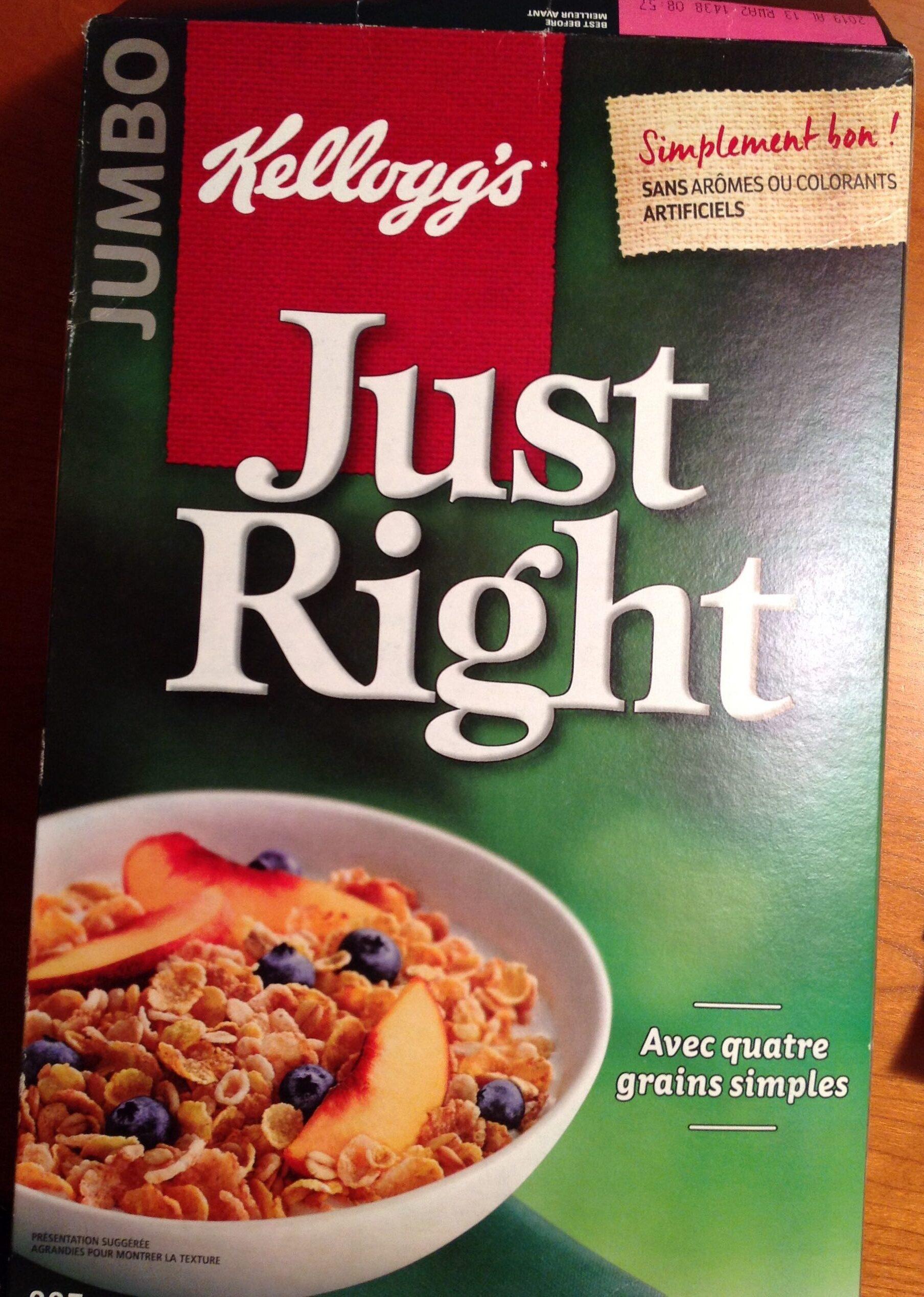Céréales Just Right - Product - fr
