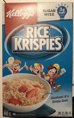 Céréale Rice Krispies - Produit - fr