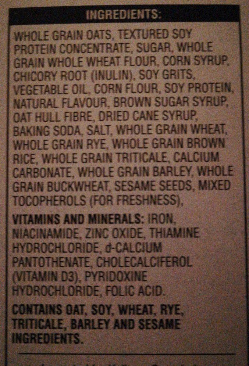 Céréales Special k Protéines - Ingrédients - fr