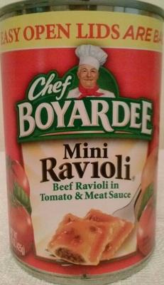 Mini beef ravioli - Product