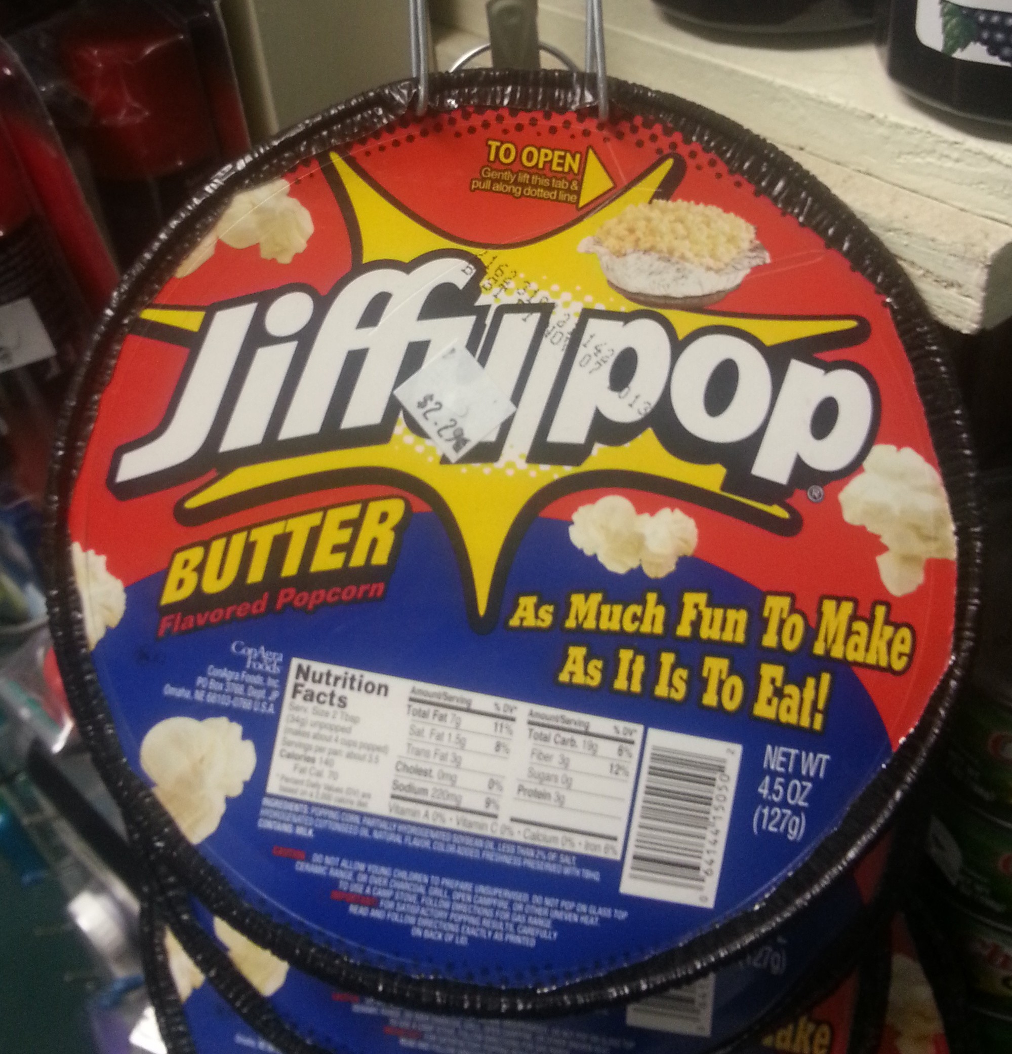 Butter flavored Popcorn - Product