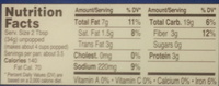 Butter flavored Popcorn - Nutrition facts
