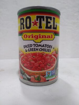 Diced Tomatoes & Green Chilies - Product - en