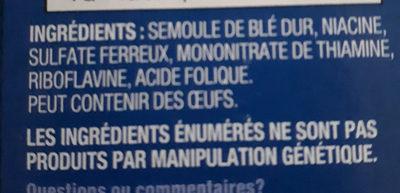 Macaroni Coupé - Ingredients