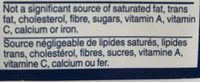 Poudre à Pâte - Ingredients - fr