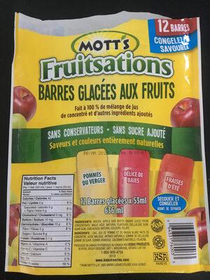 Fruitsations - Produit