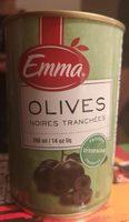 Olives noires tranchées - Produit