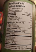 Olives noires tranchées - Ingrédients