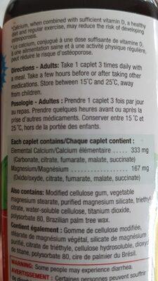 calcium - Ingredients - en