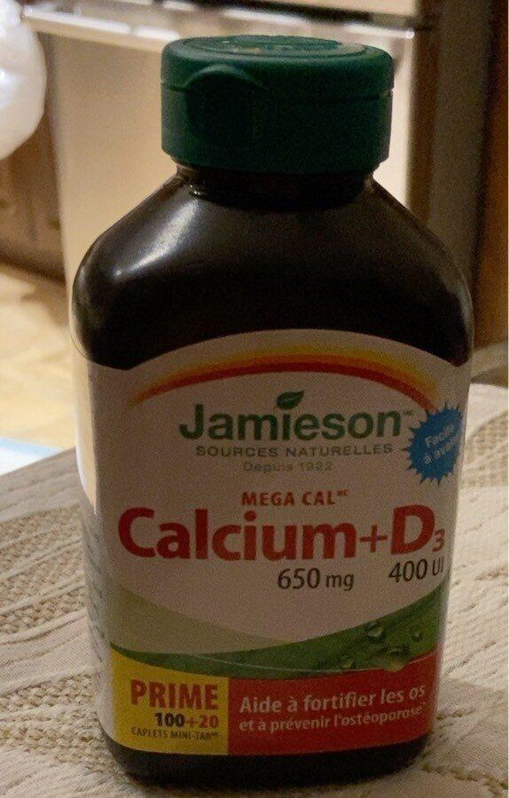 Calcium + D3 - Product - fr