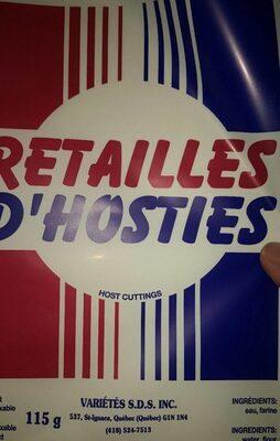 Retaille d, ostie - Produit - fr