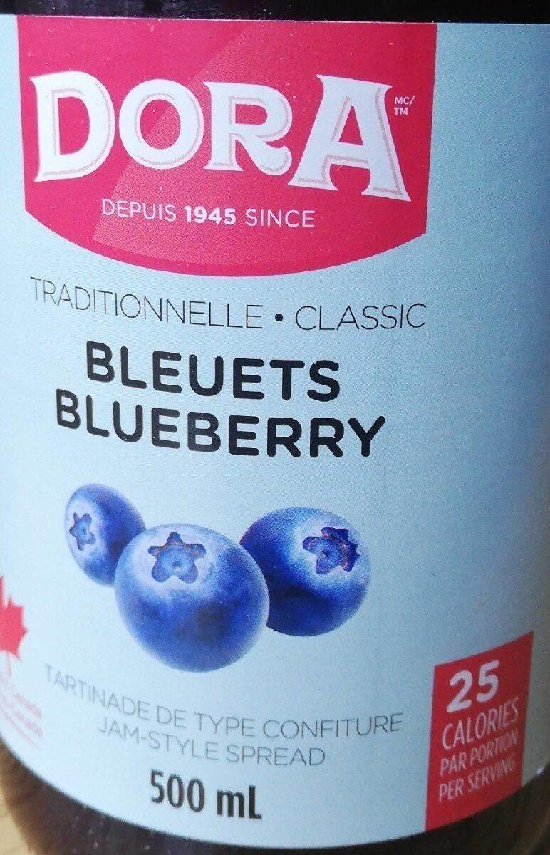 Tartinade bleuets - Product - en