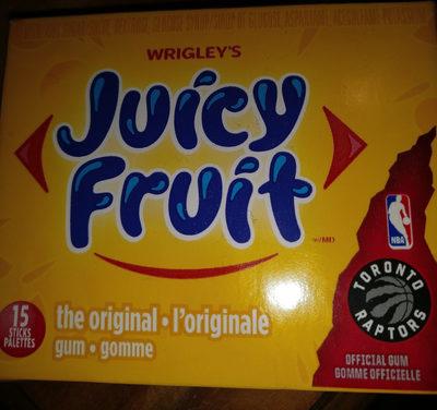 Juicy Fruit Gomme Sans Sucre L'originale - Product - en