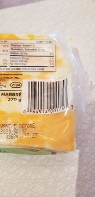 Fromage cheddar doux - Ingredients - en