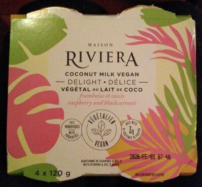 Délice végétal au lait de coco - Produit - fr