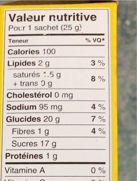 Nestle hot chocolate made with pure cocoa sachets - Nutrition facts - fr