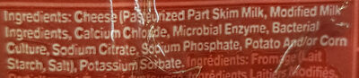Mozzarella Ball - Ingredients
