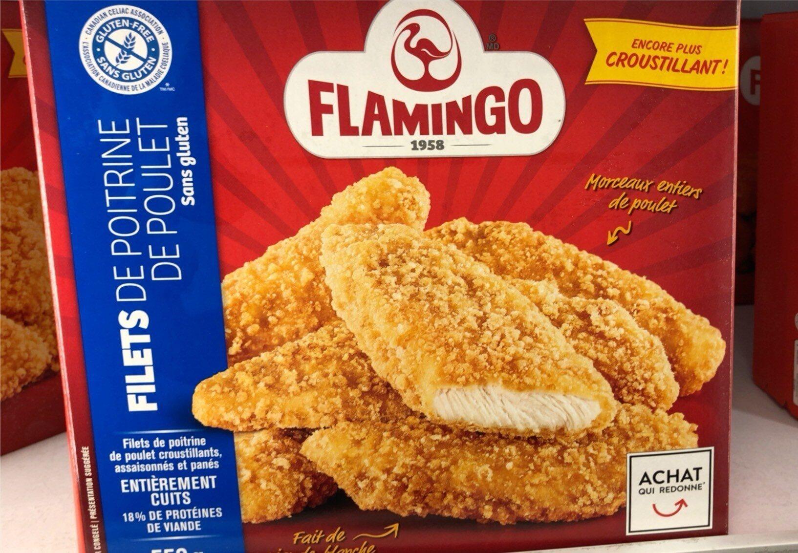 Flamingo filets de poitrine de poulet - Produit - fr