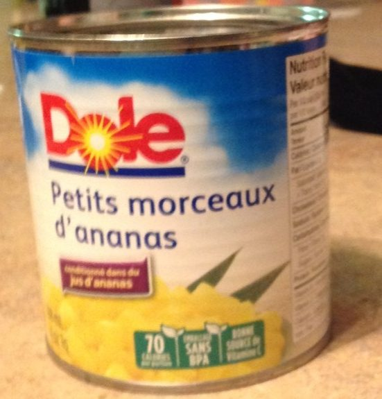 Petits Morceaux d'Ananas - Produit - fr