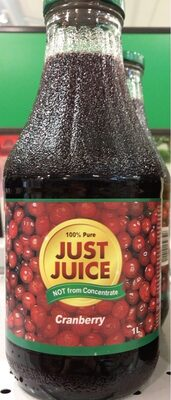 Just Juice Cranberry - Product - en