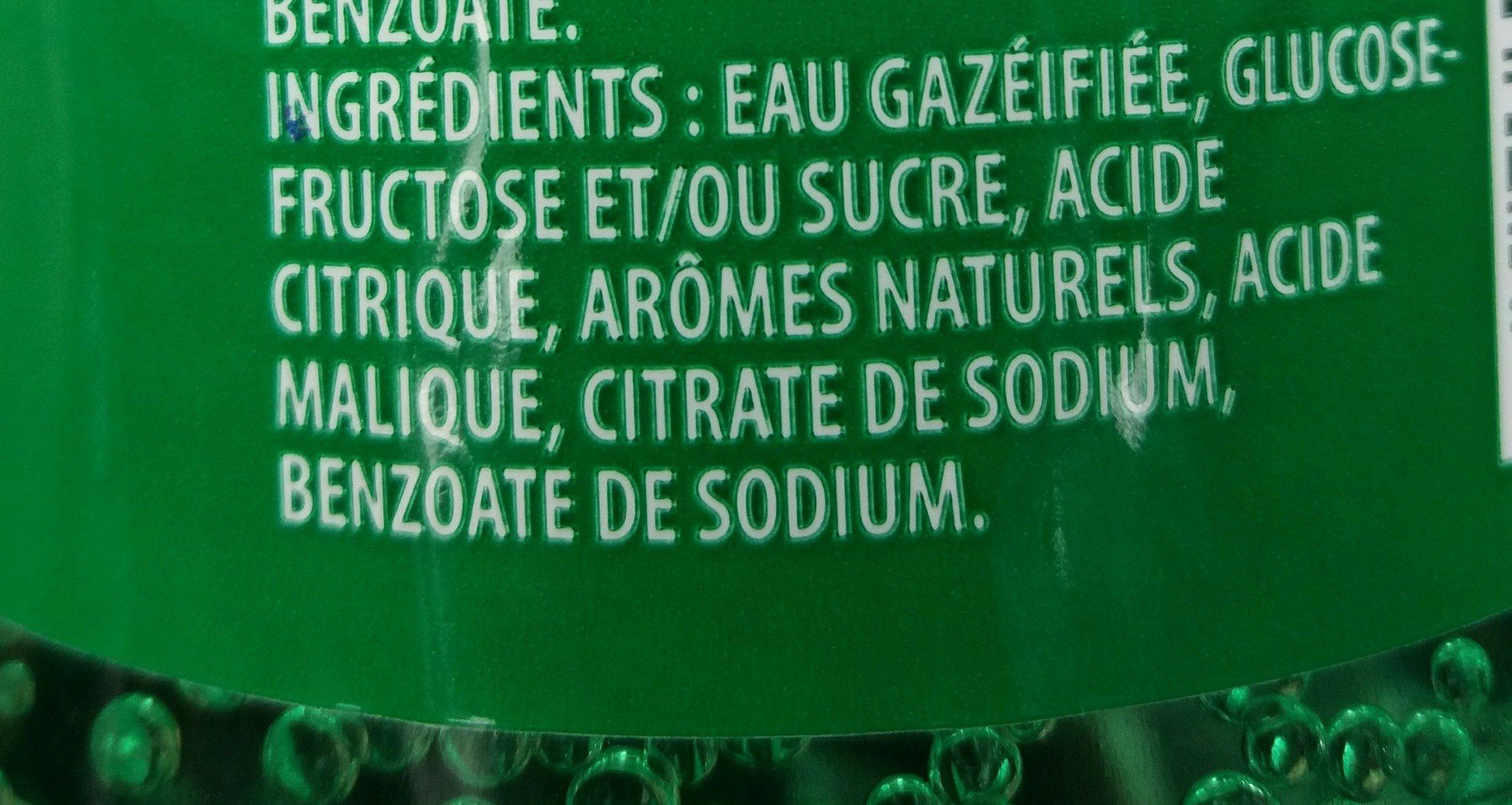 7up - Ingrediënten