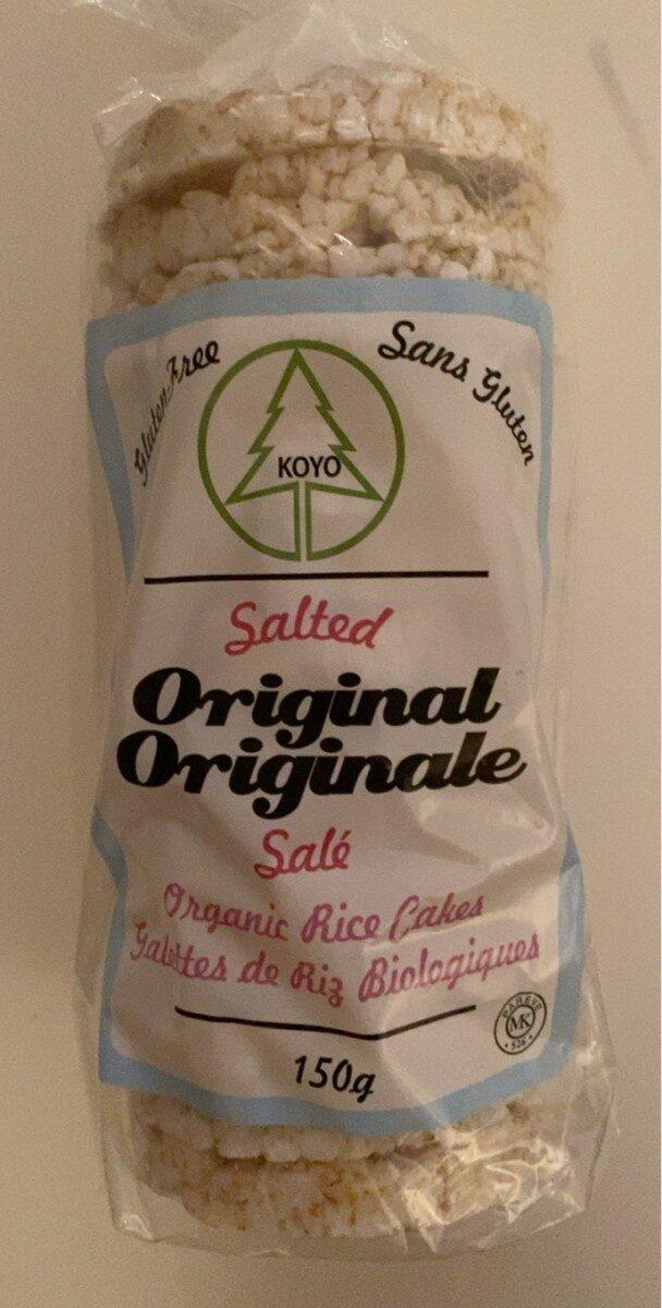 Galettes de riz biologiques - Produit - fr