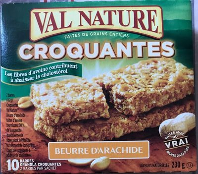 Barres Granola Croquantes Beurre d'Arachide - Product