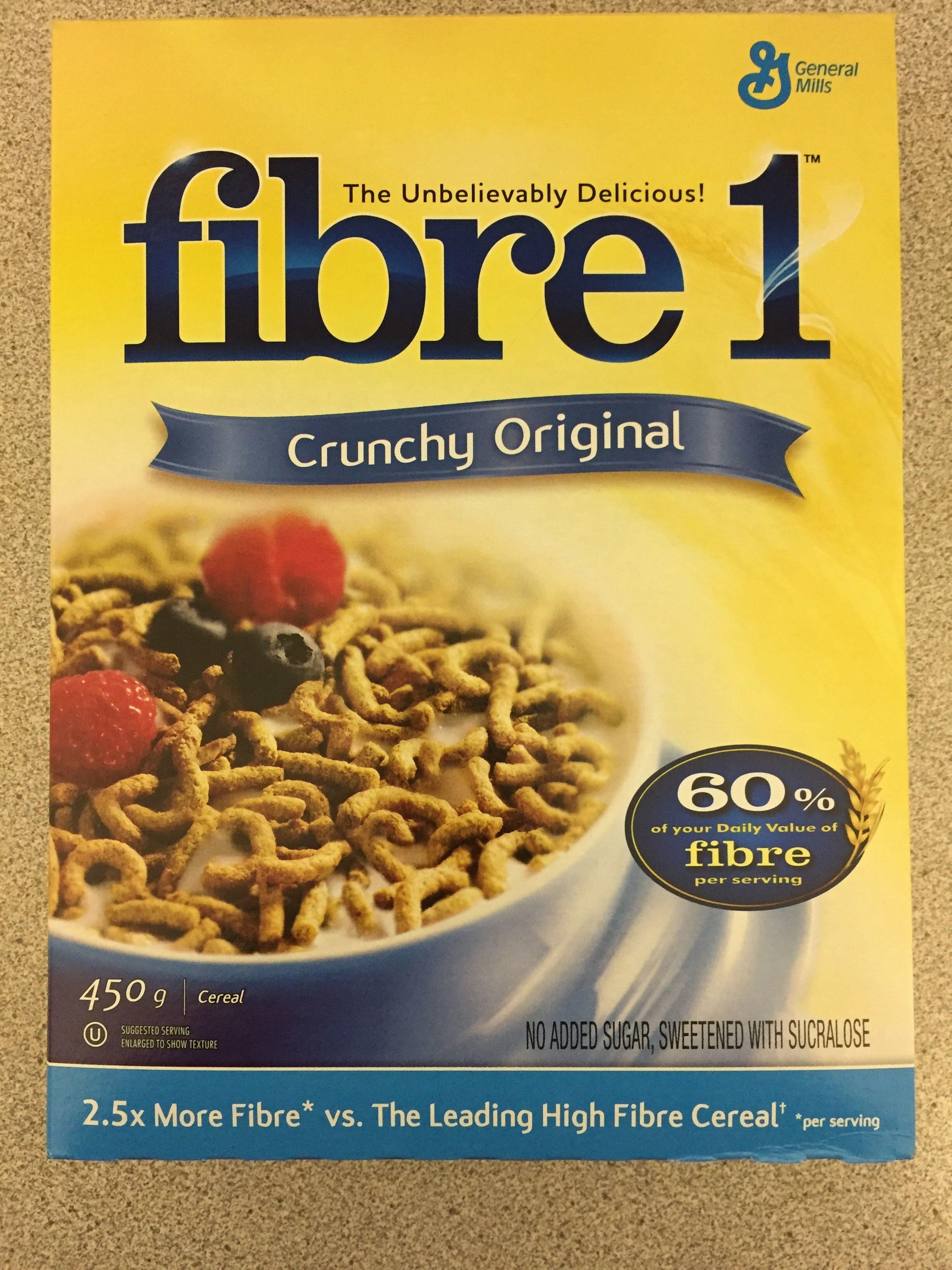 Fibre 1 Crunchy Original - Product - en