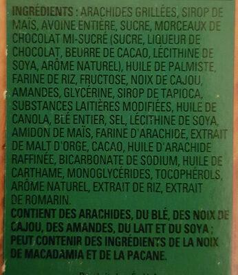 sucrées et salées - Ingredients