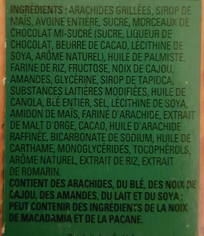 sucrées et salées - Ingredients - fr