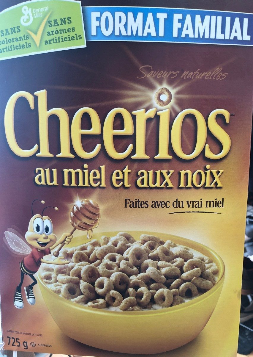 Honey Nut Cheerios - Produit - fr