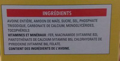 Cheerios - Ingrédients - fr