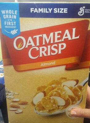 Oatmeal Crisp Almond - Product - fr