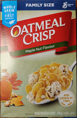 OATMEAL CRISP Maple Nut Flavour - Product - en