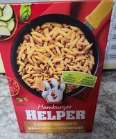Hamburger helper, 3 cheese manicotti - Produit - fr