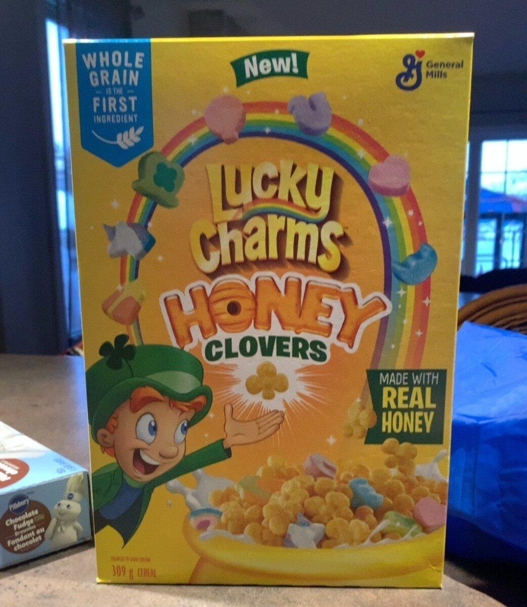 Lucky Charms Trèfles au miel - Produit - en